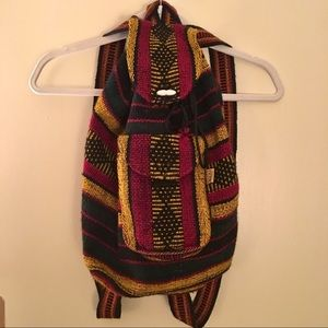 Handbags - Rasta Boho Backpack